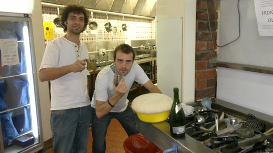 Hotel St George: Cocina