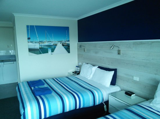 Apollo Bay Waterfront Motor Inn: very fresh feel/looking
