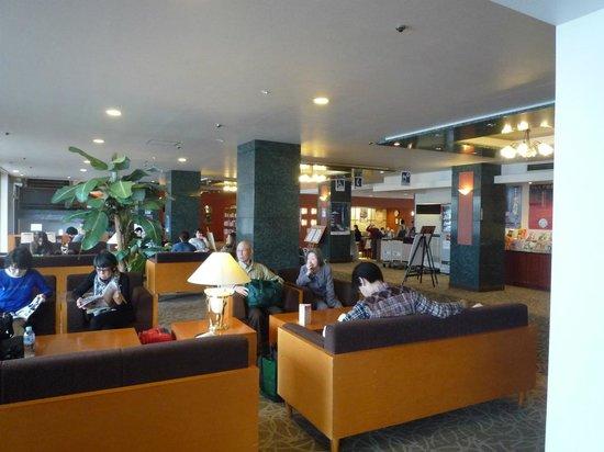 Yukai Resort Koshinoyu: 玄関ロビー