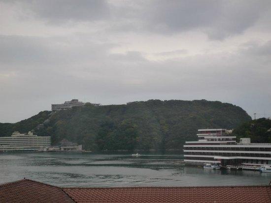 Yukai Resort Koshinoyu: ランクアップした五階の部屋からの眺望