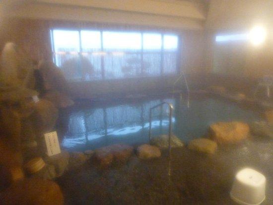 Yukai Resort Koshinoyu: 岩風呂。大浴場