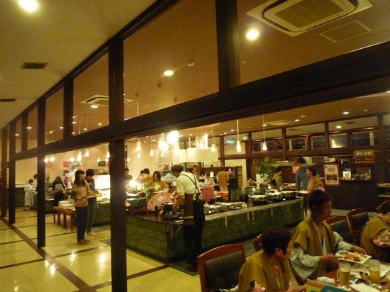 Yukai Resort Koshinoyu: レストラン・セルフサービス