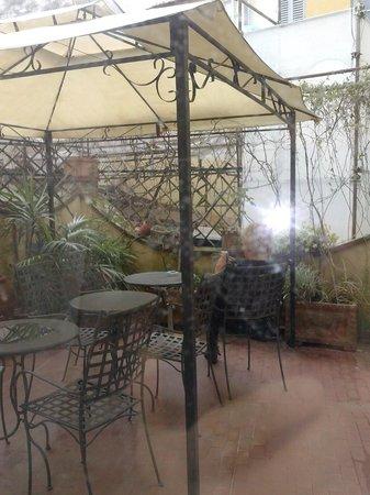 Hotel Annalena: Terrazzino