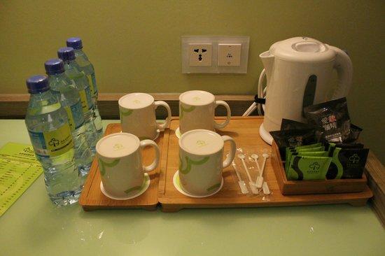 Park City Hotel-Luzhou Taipei: Water and Tea