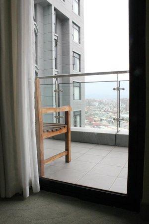 Park City Hotel-Luzhou Taipei: Family Room Patio