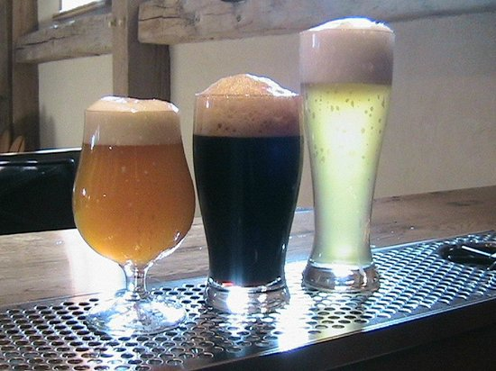 Wildwood Brewery: Bodacious Bock, Mystical Stout and White Bark Wheat Ale