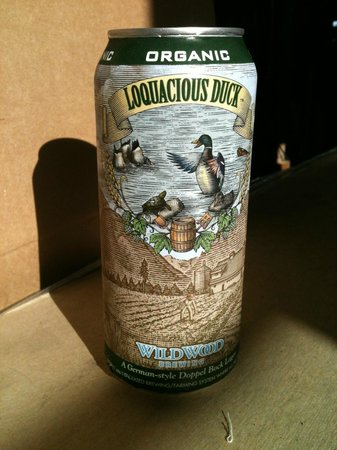 Wildwood Brewery: Loquacious Duck in the can
