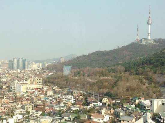Grand Hyatt Seoul: The view