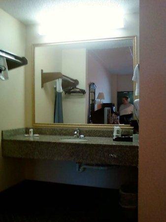 Quality Inn: Sink Area