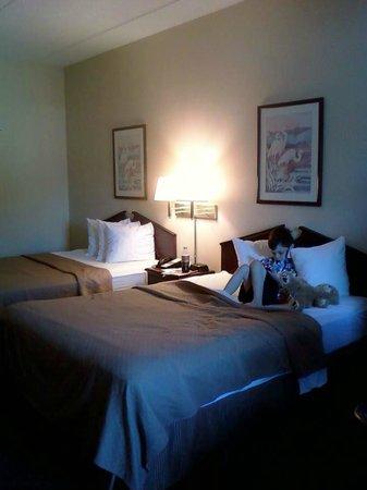 Quality Inn: Beds