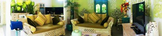 Bermimpi Bali Villas : Panoramic view of the villa