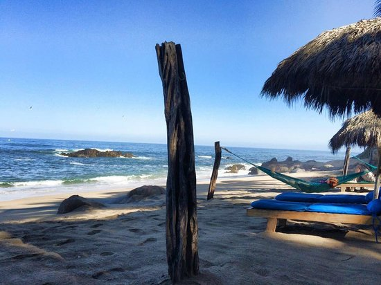 Playa Escondida: playa