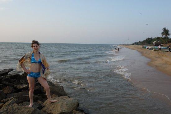 Paradise Beach Hotel : Пляж