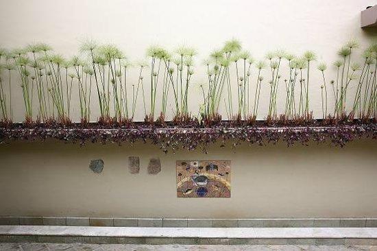 Casa de las Flores Hotel: Plantas naturales