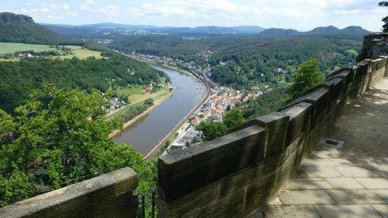 Königstein Fortress: Festung Koenigstein - wow