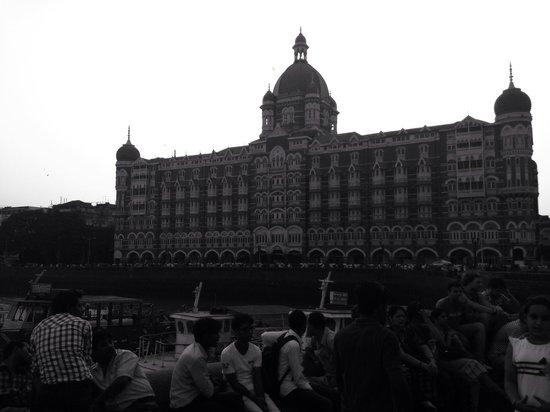 The Taj Mahal Palace, Mumbai: The Taj Mahal palace from next to the gateway of India