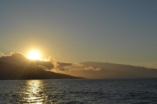 Start Me Up, Sport Fishing: Morning sunrise