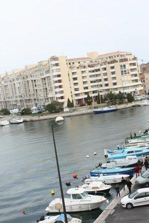Hotel Azur : vue canal