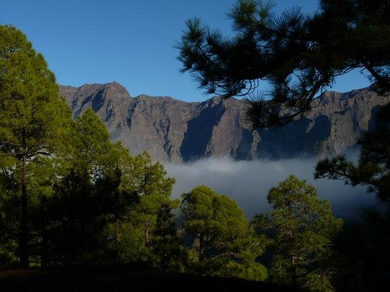 Caldera de Taburiente National Park: Caldera vu de la Combrecita