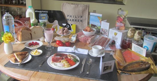 Valency B&B: Local food sourcing for breakfast