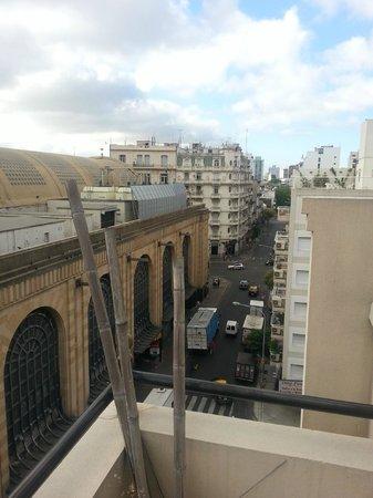 Parada Abasto Apartamentos: Vista desde la terraza