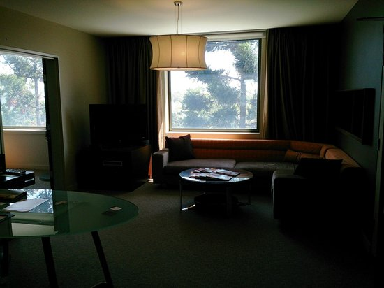 Pullman at Sydney Olympic Park: View to the window of the living room