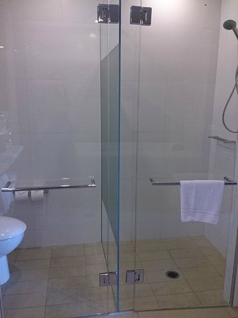 Pullman at Sydney Olympic Park: Shower/toilet