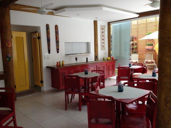Pousada Cana Caiana : salle petit déjeuner