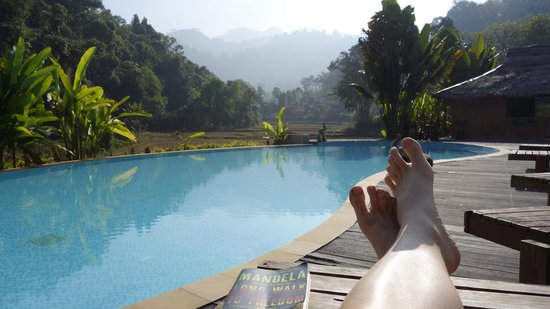 Hmong Hilltribe Lodge : My private pool!