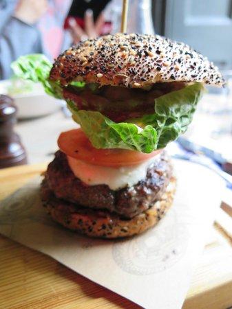 Jamie's Italian: Just look at that Italian Burger!
