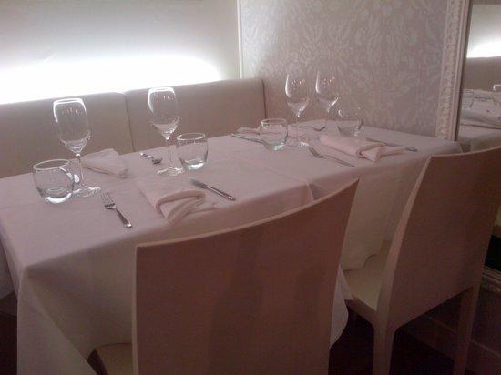Restaurant Mariette : salle claire et agréable