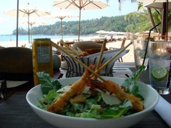 The Surin Phuket: Blick von der Beachbar
