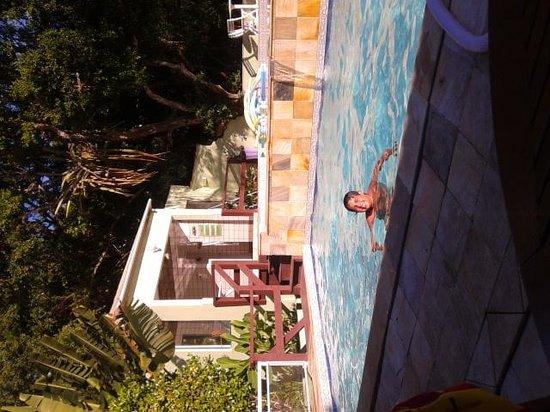 Pousada Aguas Claras Buzios: Na piscina