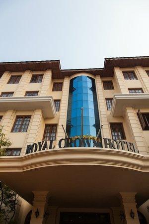 Royal Crown Hotel: Main entrance old wing