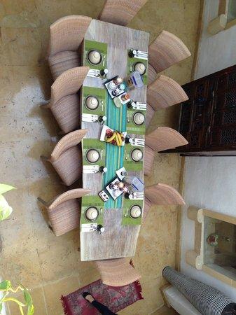 Chapel 5 Palazzo Suites B&B: Il tavolo della prima colazione