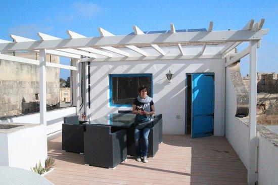 Chapel 5 Palazzo Suites B&B : La terrazza