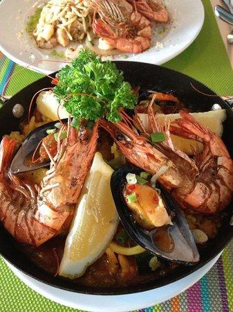 The Limestone's Fine Dining: PAELLA DE MARISCO