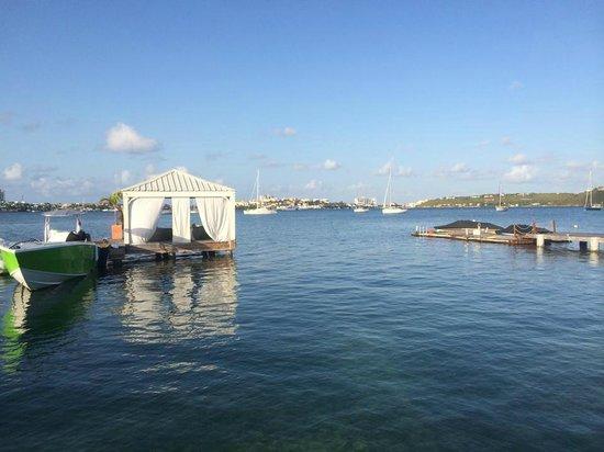 Mercure Saint-Martin Marina & Spa: Plage