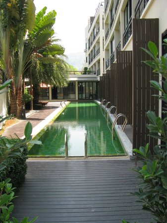 The Kris Resort : the other green pool
