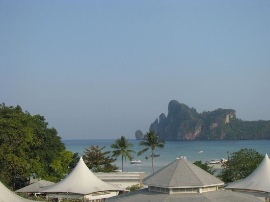 Phi Phi Hotel : the view from our room