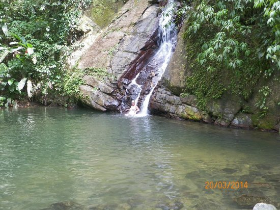 Naturalist Beach Resort: waterfall10 mins walk from Naturalist