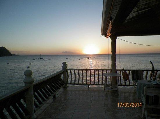 Naturalist Beach Resort: View from Balcony