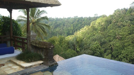 Puri Wulandari Boutique Resort: Valley view south room 108
