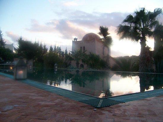 Le Jardin des Douars : piscine chauffée