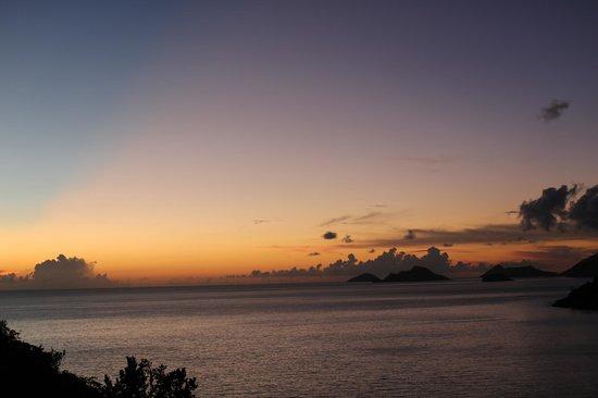 MAIA Luxury Resort & Spa : Sunset