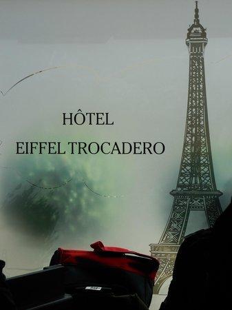 Hotel Eiffel Trocadero: Réception