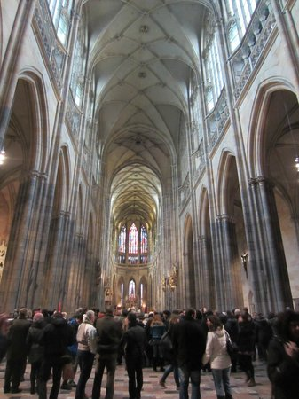 Veitsdom (Chram svatého Víta): inside