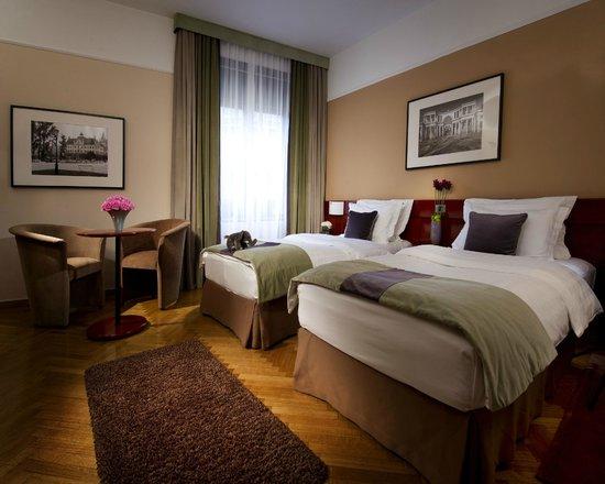 Best Western Premier Hotel Slon: Comfort twin room