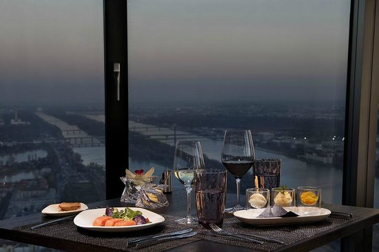 Donauturm Restaurant Review