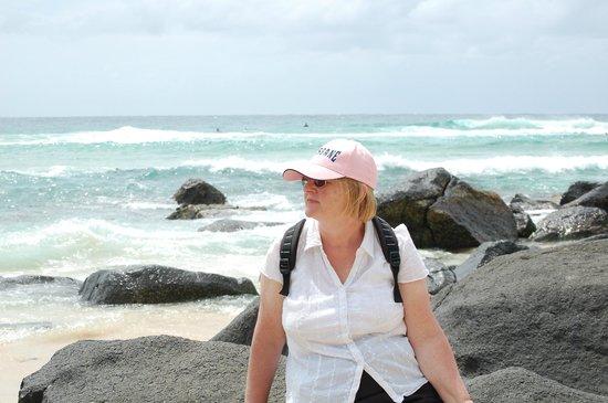 Snapper Rocks: great spot for exploring